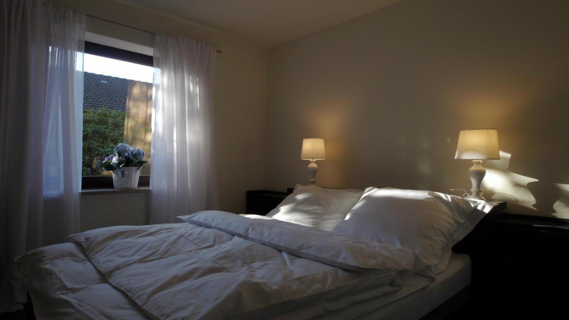 Schlafzimmer Schlei - Ferienhaus Familientreff Ostsee